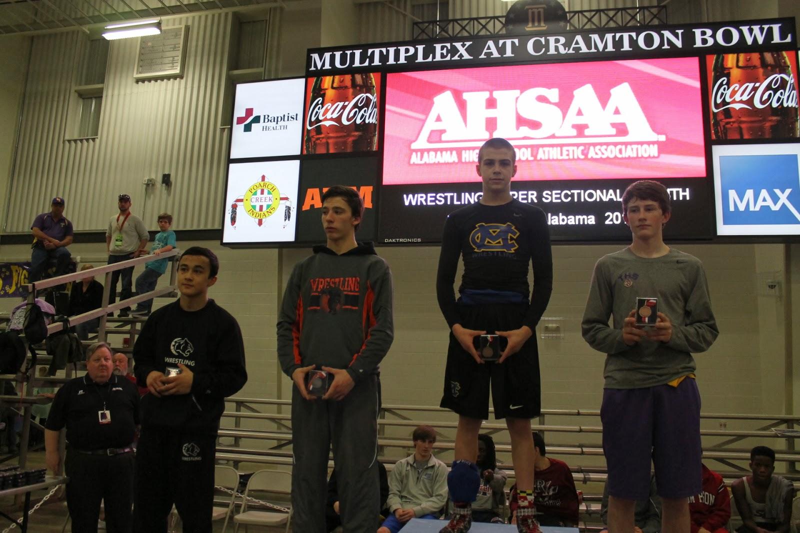 Van Alst Wins at AHSAA Super Sectional Tournament 1