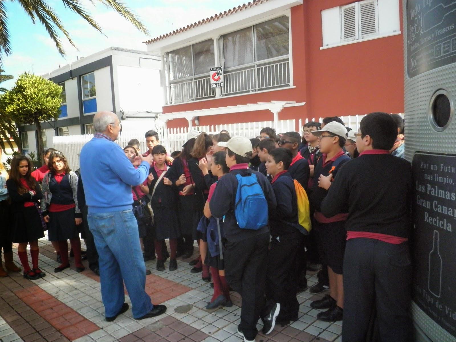 El blog de joaqu n nieto visita de alumnos de sexto curso for Ceip ciudad jardin