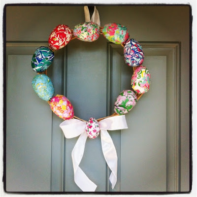 http://www.couponingncooking.com/2012/04/diy-lilly-pulitzer-easter-egg-wreath.html
