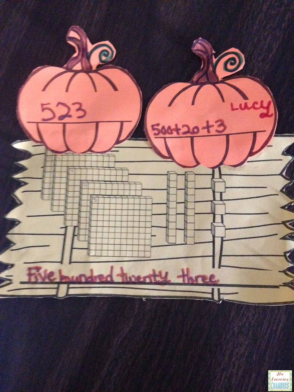 http://www.teacherspayteachers.com/Product/Place-Value-Pumpkin-Patch-Craftivity-1478239