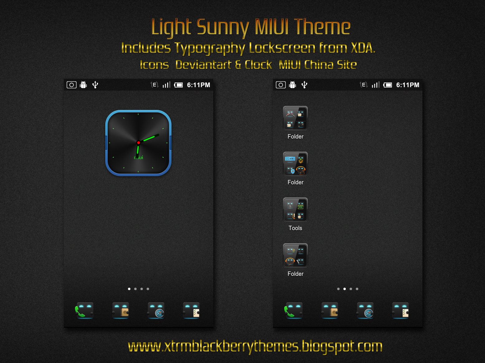 LIGHT SUNNY MIUI Theme