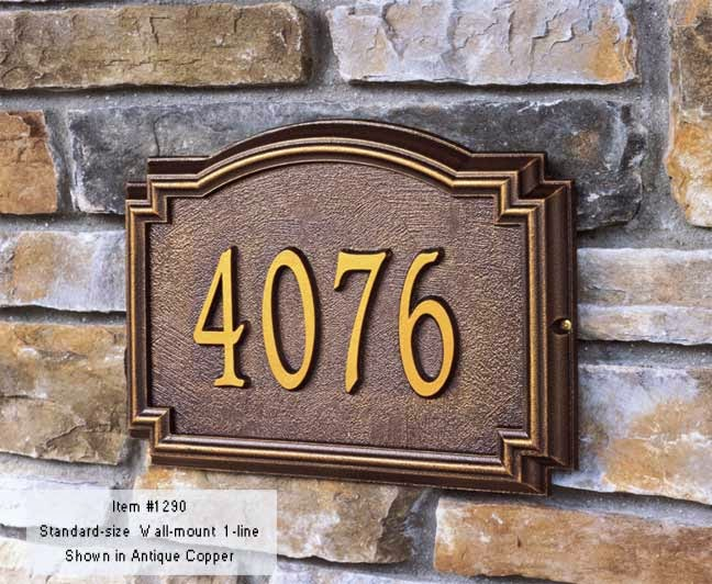 Address Plaques standart
