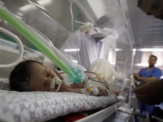 Bayi Gaza:Yatim Piatu Sebelum Lahir