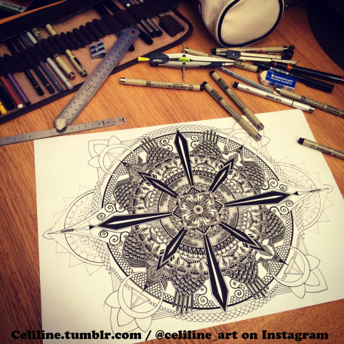 24-Celiline-Hand-Drawn-Zentangle-Doodles-Illustrations-Drawings-www-designstack-co