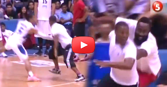 Kyle Lowry Triple CROSSOVER on LA Tenorio (VIDEO)