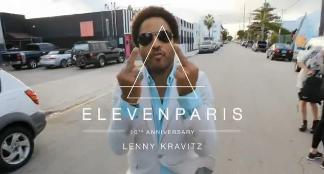 Eleven Paris Pub Lenny Kravitz