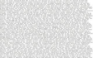 Ciri Webspam Algoritma Google Penguin Ciri Webspam Algoritma Google Penguin