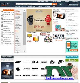 situs toko online terpercaya lazada.co.id