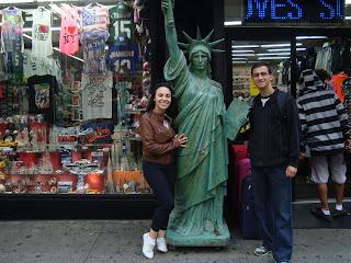 Lojas na Times Square