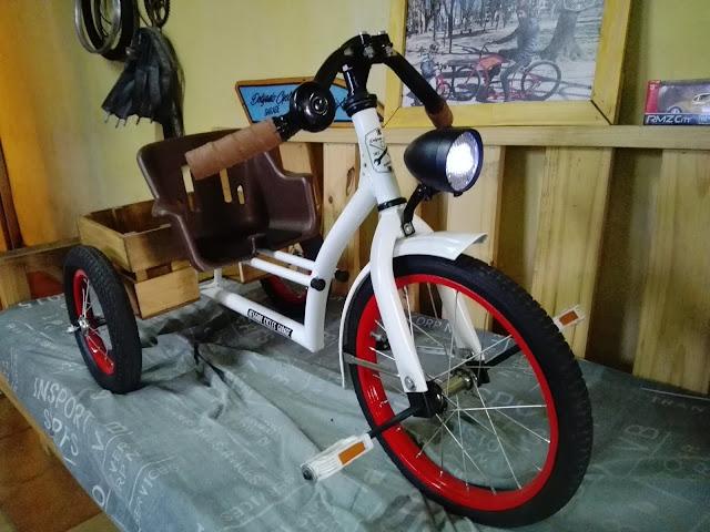Triciclos exclusivos a pedido y gusto.