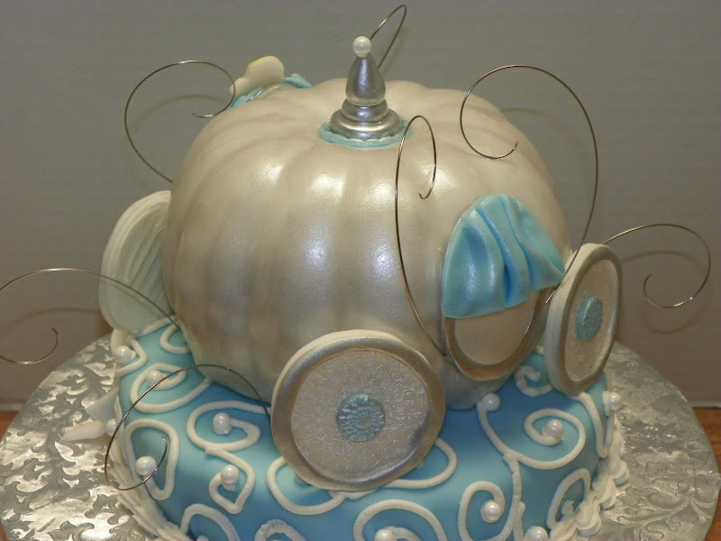 Plumeria Cake Studio Cinderella Pumpkin Carriage Cake