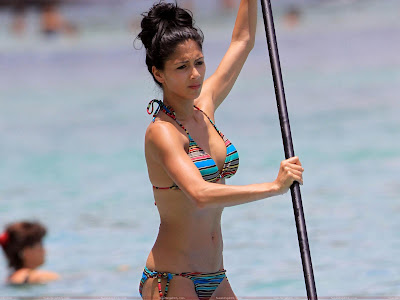 Nicole Scherzinger Wallpaper Swimwear