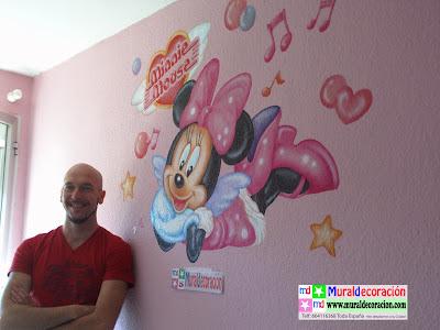 Mural Infantil para dormitorio de bebés terminado