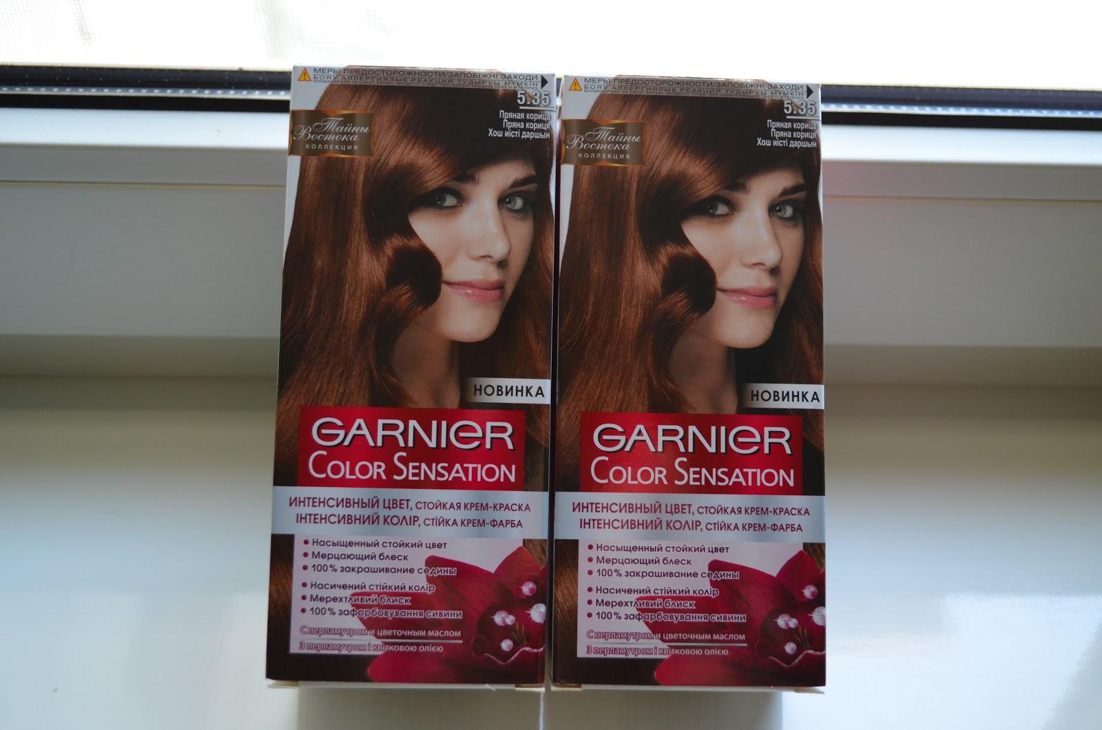 Краска для волос пряный цвет