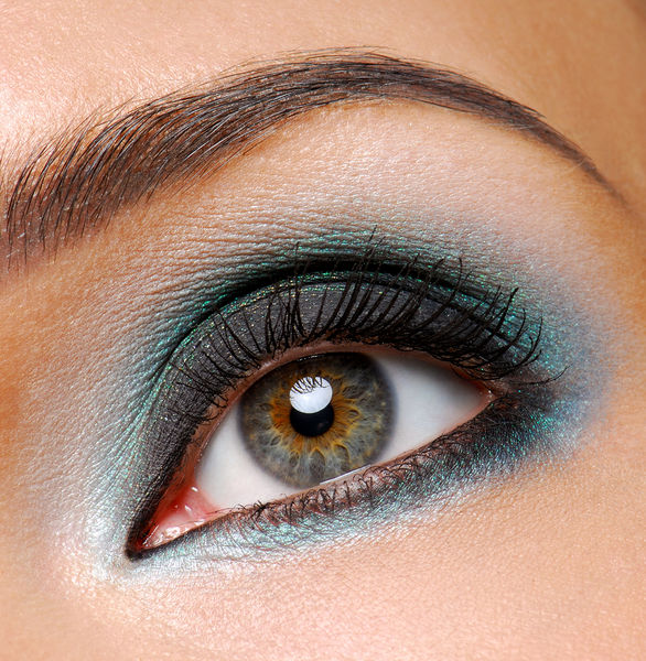 eye makeup tips for brown eyes. The skin around eyes is extra