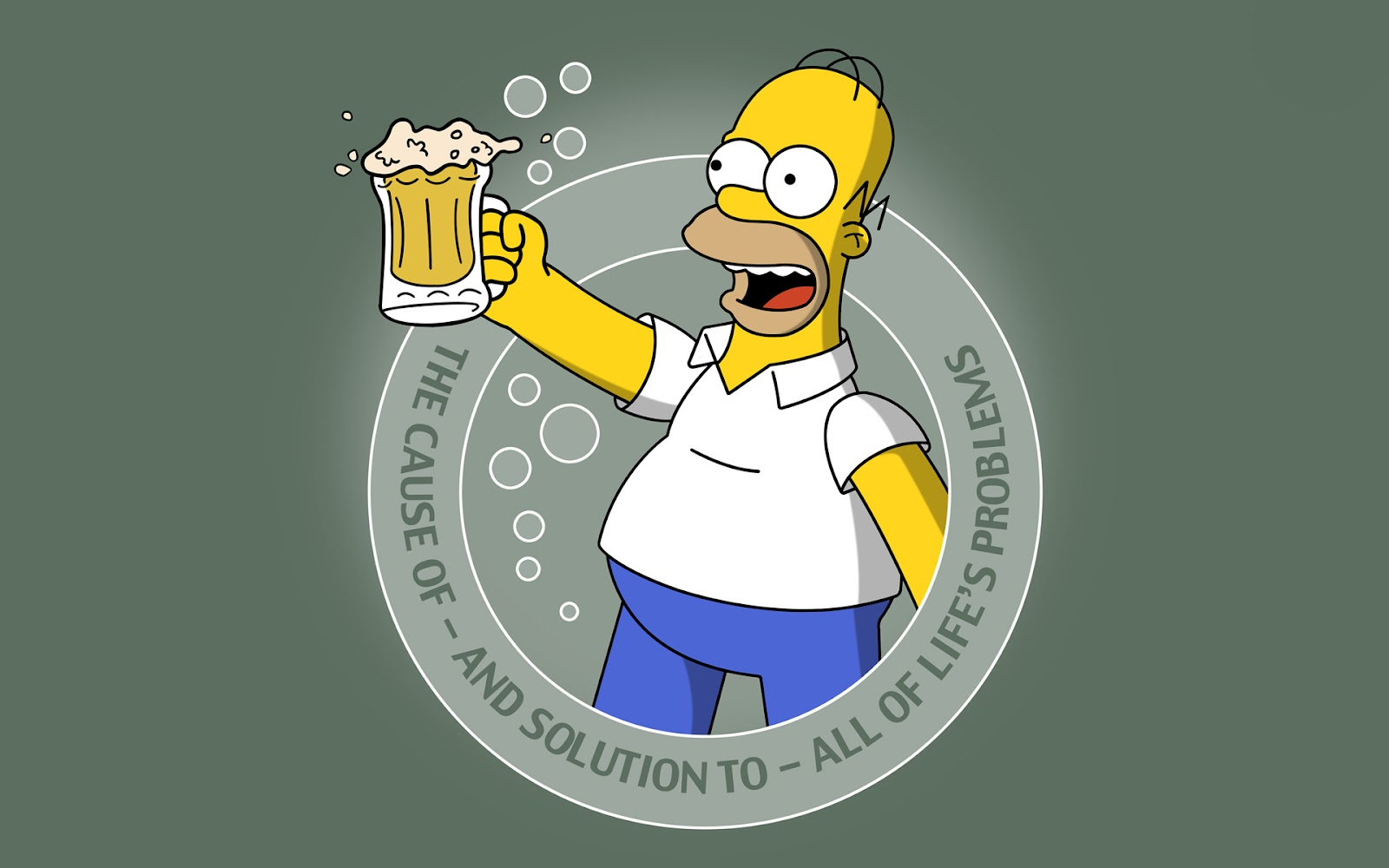 Homero Simpson Fondos Pantalla Wallpapers