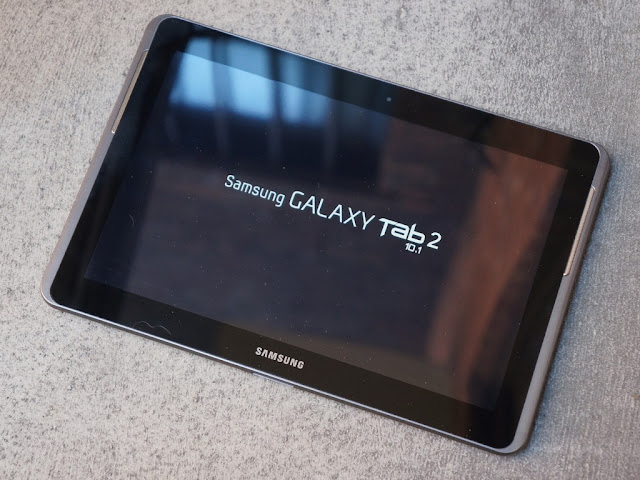 start up setup Samsung Galaxy Tab 2 10.1 P5100