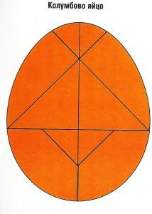 Колумбово яйцо схемы для детей