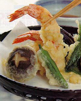 how to make tempura batter for vegetables