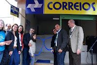 Prefeitura inaugura agência comunitária dos Correios em Mottas, no 3º Distrito