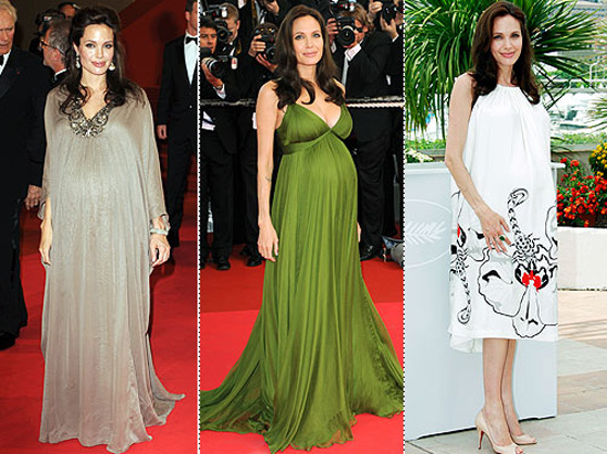 angelinajolie Maternity Party Dresses