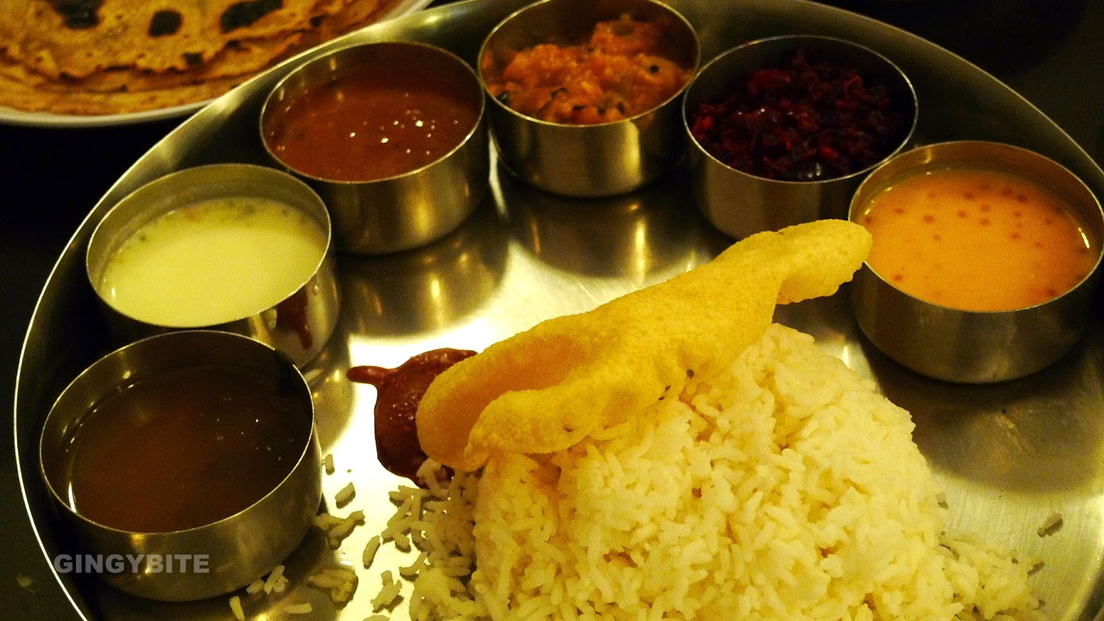 South Indian Meal - veg
