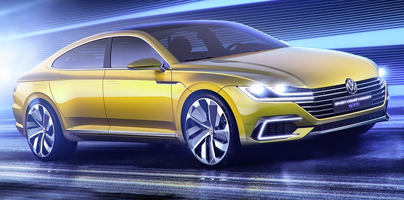 The 4-door Coupe Volkswagen Passat