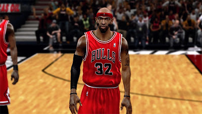 NBA 2K13 Richard Hamilton Cyberface Patch