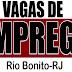 Veja as oportunidades de emprego de Rio Bonito desta quarta-feira (24).