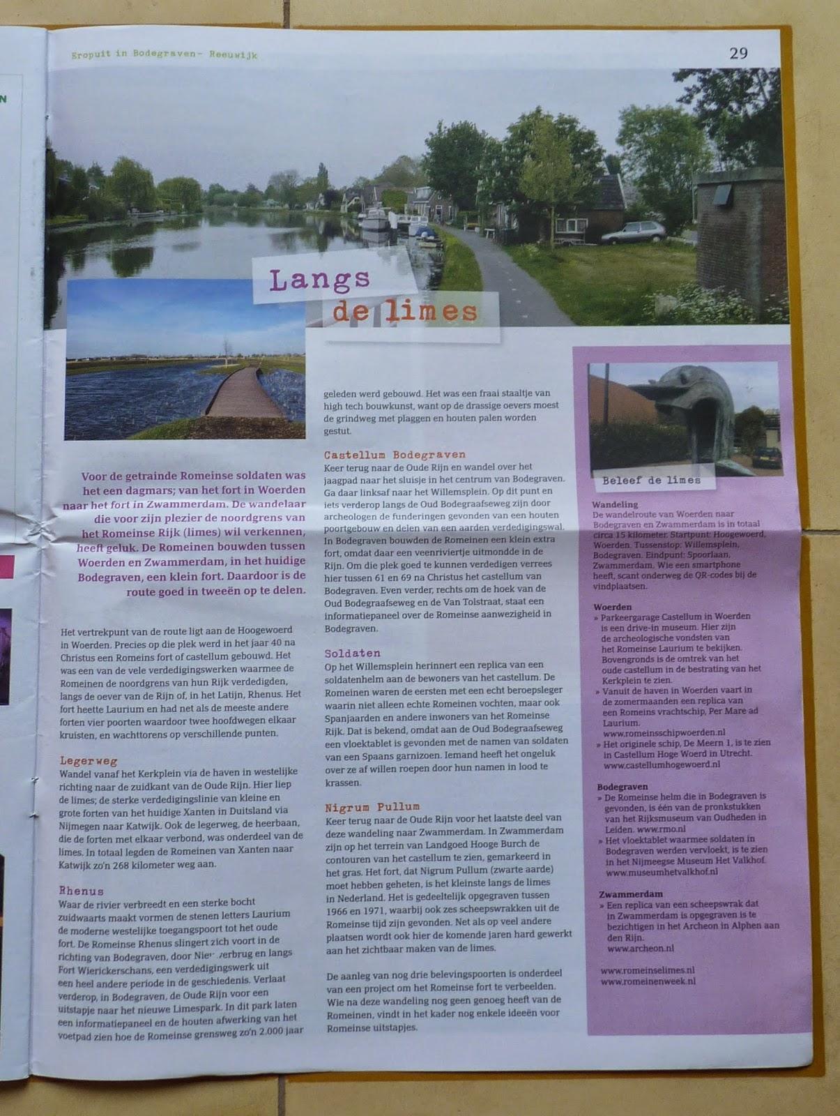 Recreatiekrant Bodegraven-Reeuwijk Eropuit maart 2015