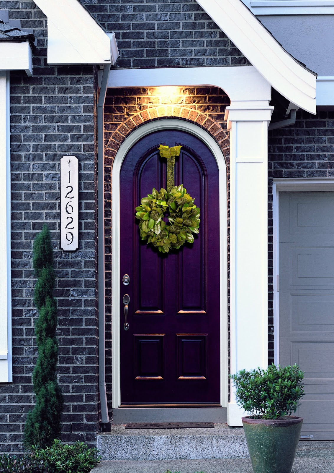 Benjamin moore front door paint colors - Benjamin Moore Equivalent Is Gentle Violet