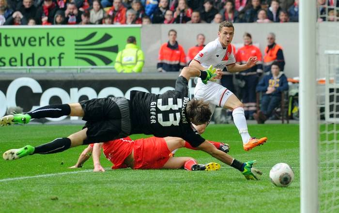St. Pauli vence contra o Fortuna Düsseldorf.