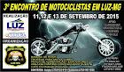 Luz-MG (11 à 13 de setembro)