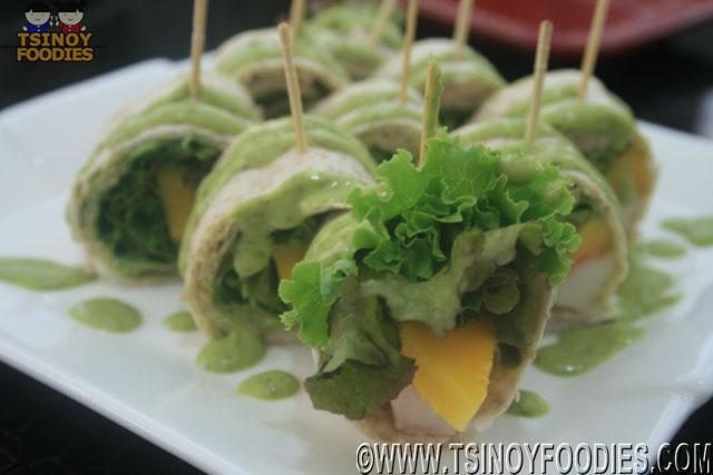 crabstick & Mango goody wraps