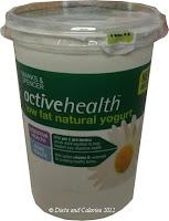 Marks & Spencer Active Health low fat yogurt