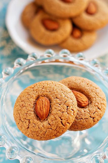 biscotti di mandorle / almond cookies