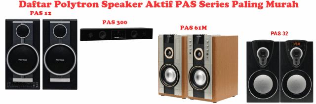Polytron Speaker Aktif PAS Murah