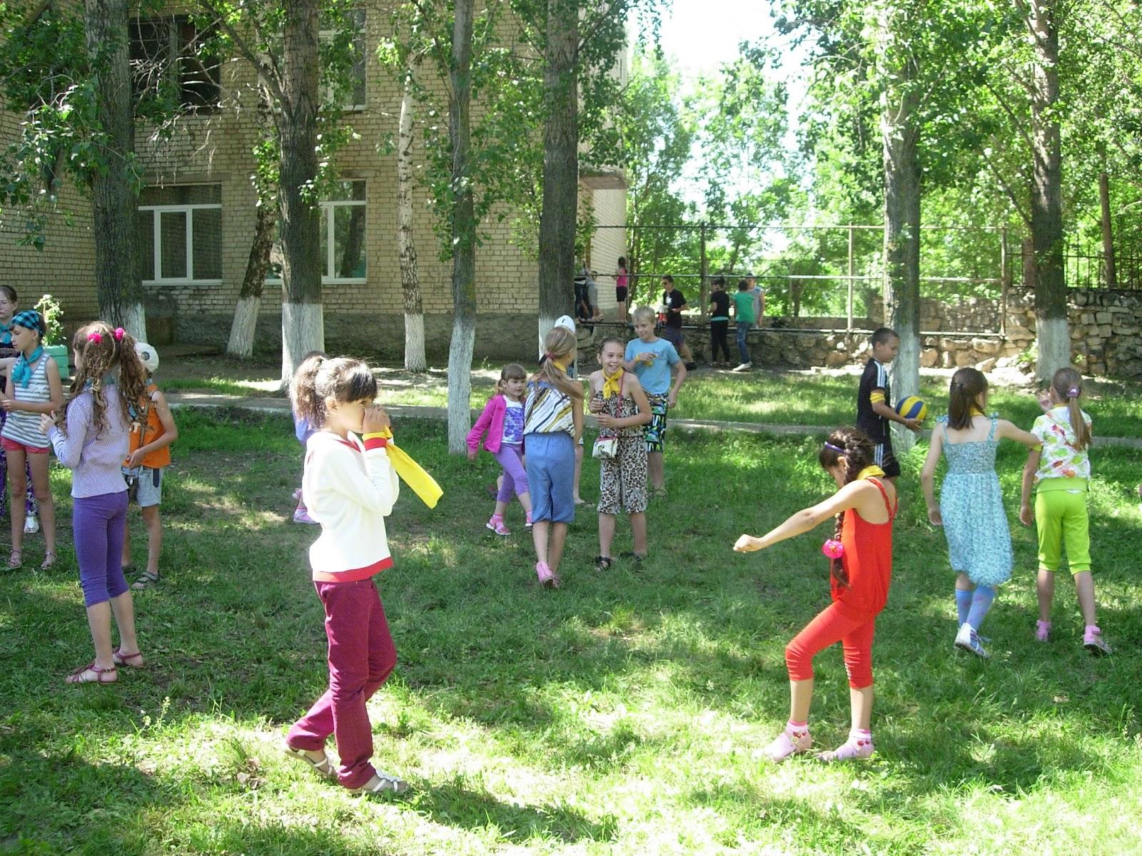 Весёлые конкурсы для лагеря