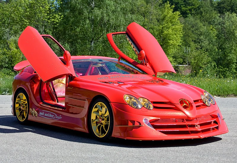 Modifikasi Mercedes-Benz SLR McLaren