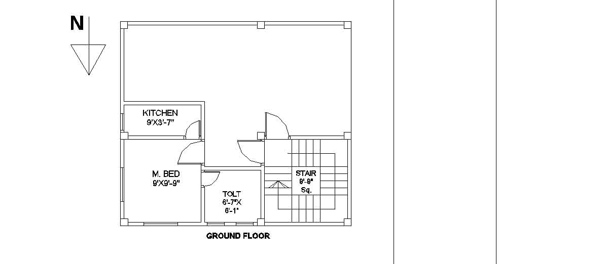civil engineering floor plans of building 27 ftx24 ft civil floor plan floor home plans ideas picture