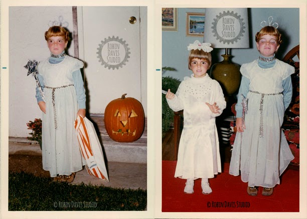 Al & I Halloween 1971 | Robin Davis Studio