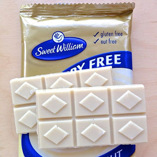 Sweet William vegan dairy-free white chocolate