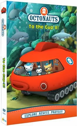 Octonauts: To the Gup-X DVD