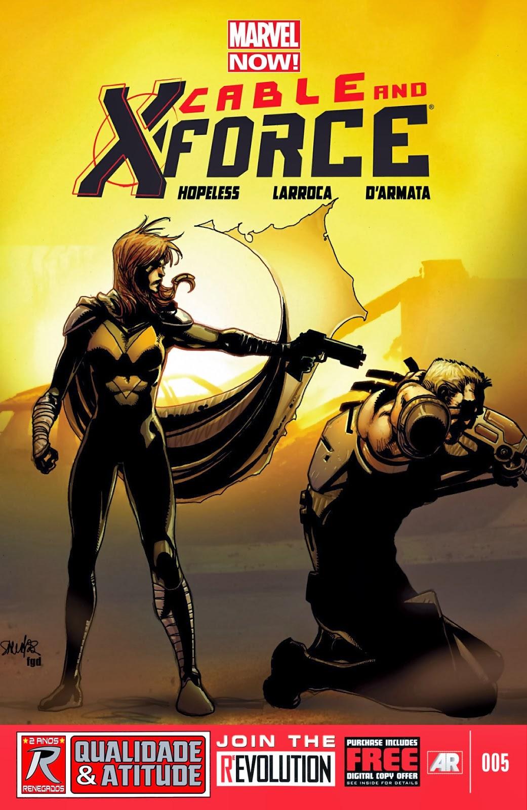 Nova Marvel! Cable e a X-Force #5