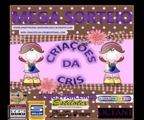 Mega Sorteio No Blog  Da Cris