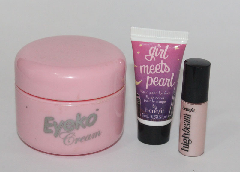 eyeko girl high 1 Comparando Iluminadores: Eyeko Cream, Girl Meets Pearl e High Beam!