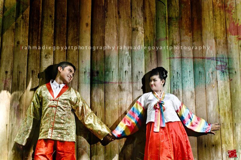 prewedding Neri & Rema konsep korea