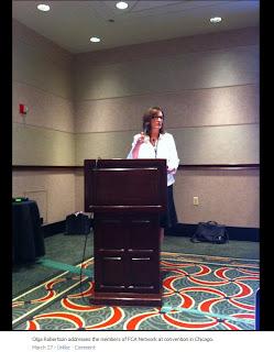 Olga Robertson, FCA Network President