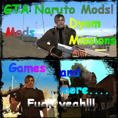 GTA Naruto Mods