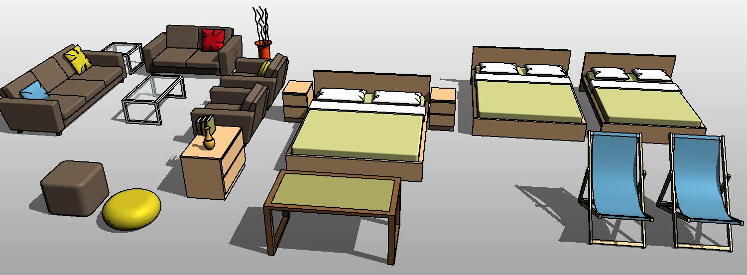 Perfect Revit Furniture Library 1500 x 552 · 96 kB · jpeg